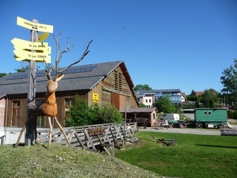 Visite en famille du musée du bois  Labaroche