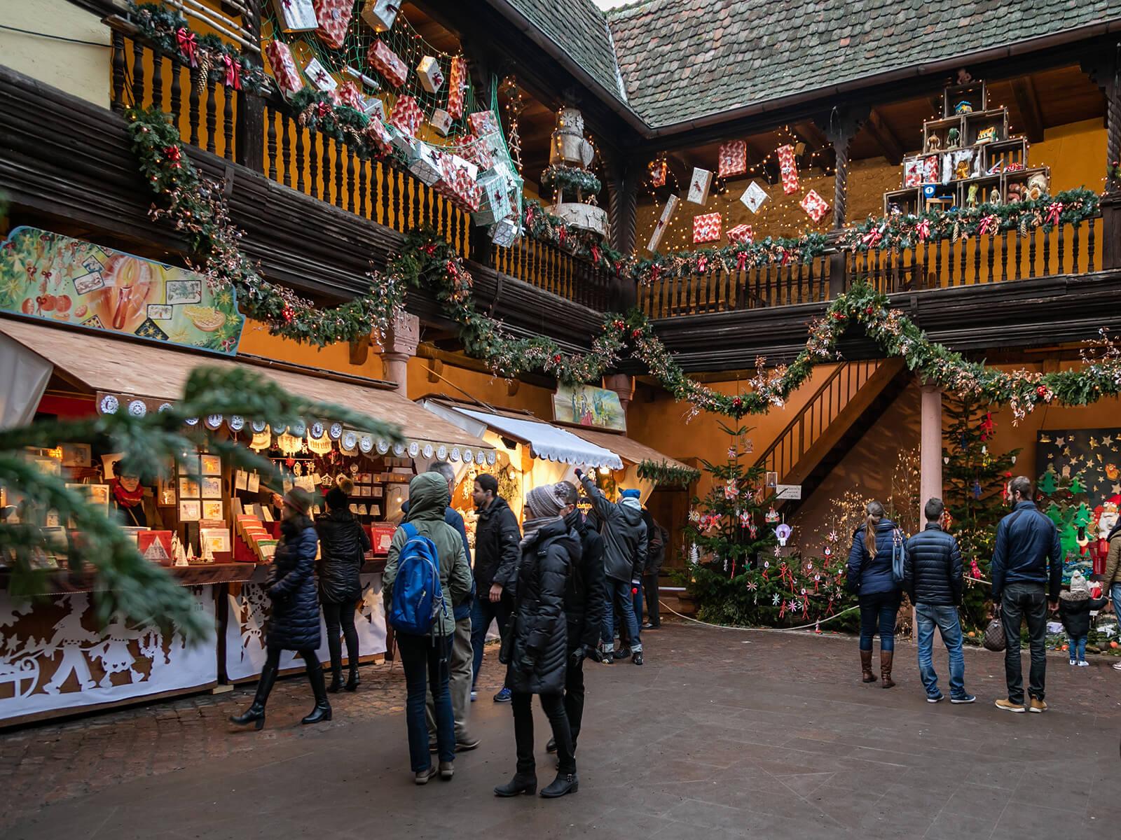 Préludes et marché de Noël à Kaysersberg