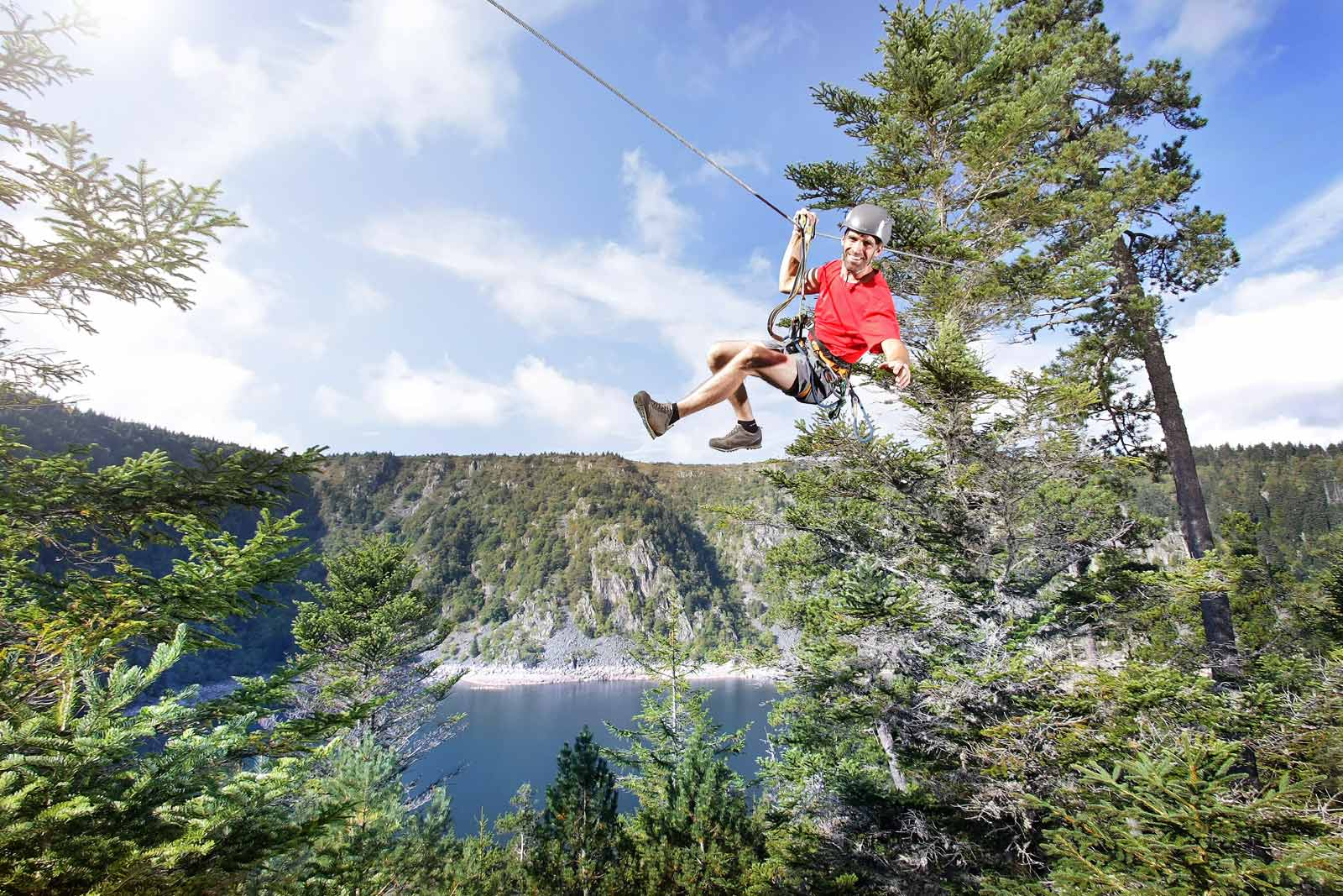 Lac Blanc Aventures - Accrobranche
