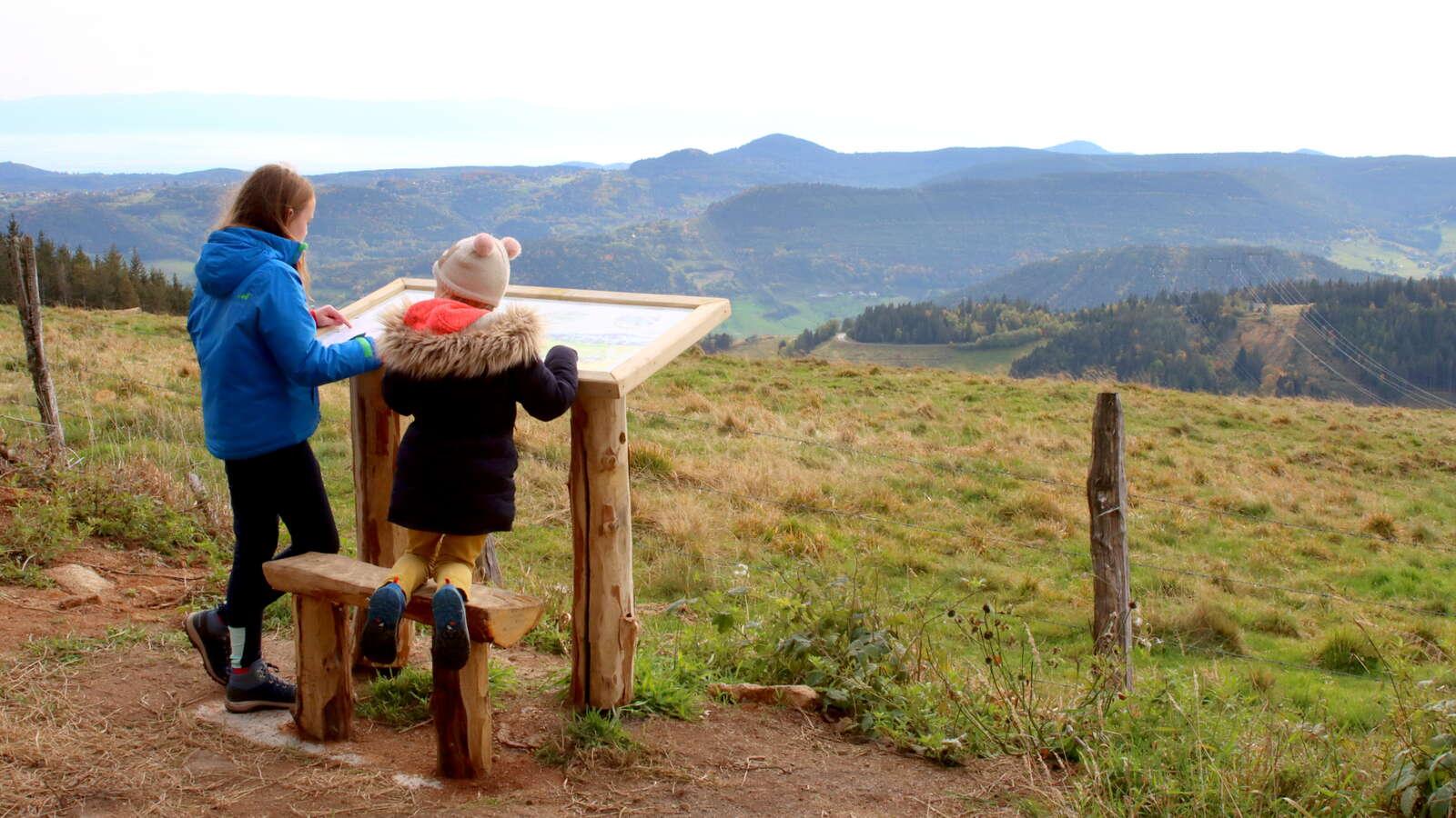 Sentier ludique - Aventures de Till et Froll - Station du Lac Blanc