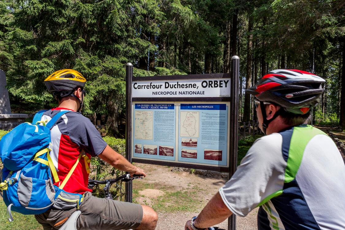 Sortie vélo VTT - Le tour de la Tête des Faux