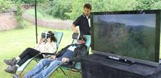 Virtuelle Realität in der Burg