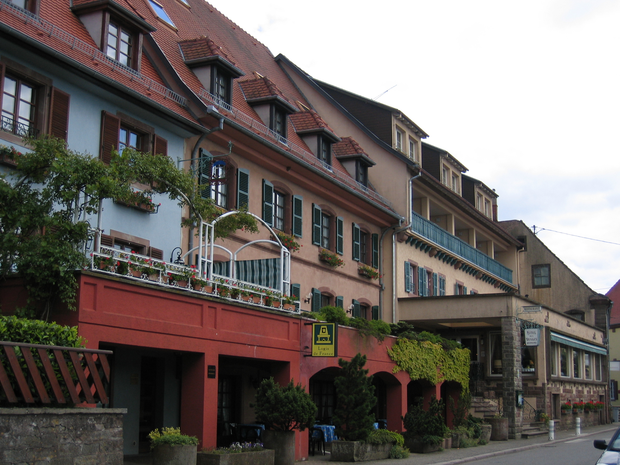 Hôtel - restaurant Les Vosges