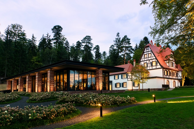 Restaurant villa ren lalique wingen sur moder for Hotels wingen sur moder