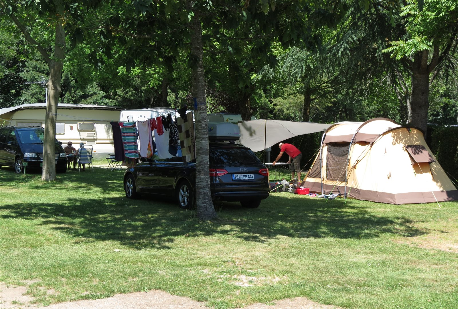 Campsite Les rives de la Doller