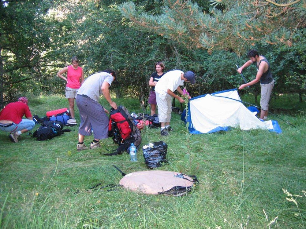 Aire naturelle de camping à la Ferme de l'Entzenbach