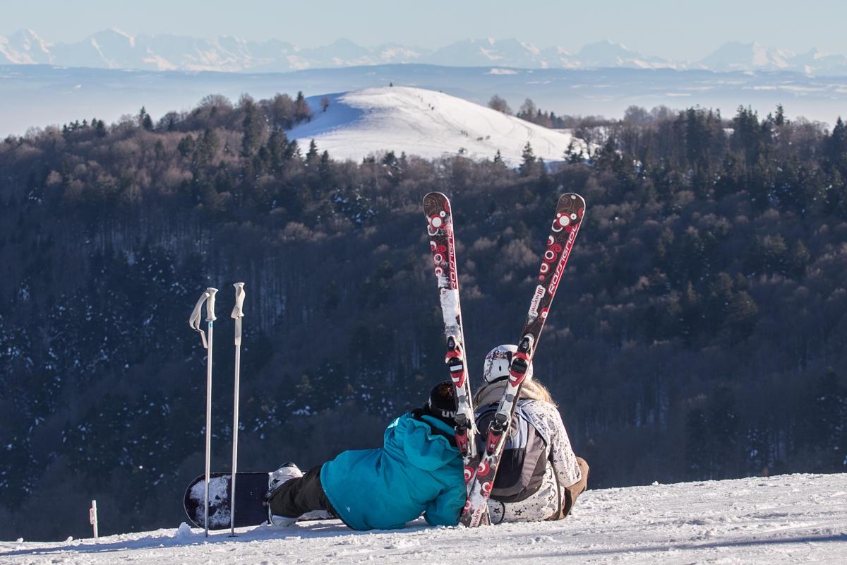 Skigebiet Ballon d'Alsace