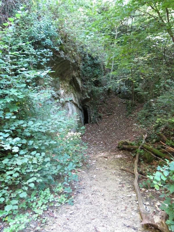 Wanderung : sentier géologique Sentheim
