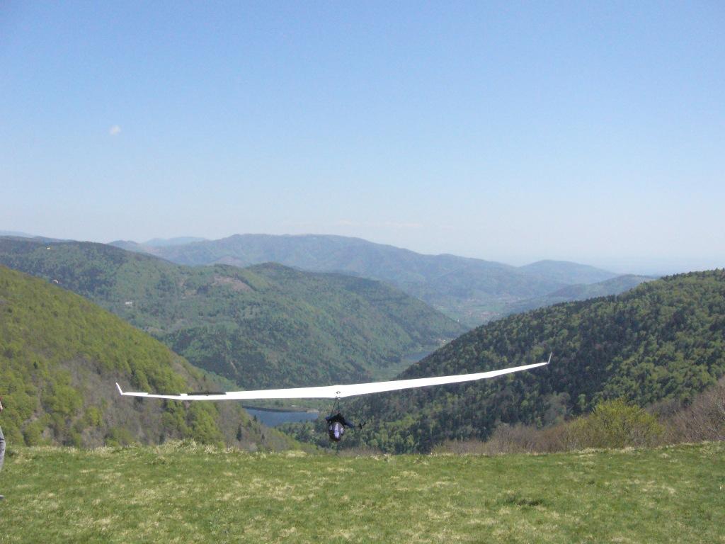 Sports aériens dans la Vallée de la Doller