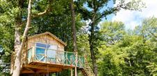 Cabane suspendue Robin des bois