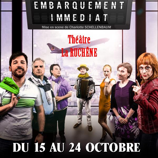 Théâtre Embarquement immédiat - Masevaux-Niederbruck