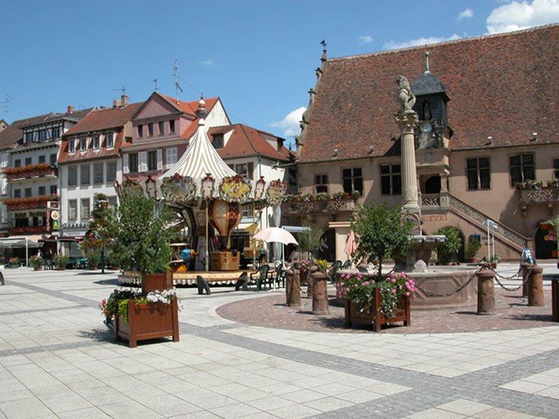 Visite libre de la vieille ville de Molsheim