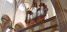 Orgel von Jean-André Silbermann