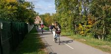 Bicycle tour in the nature