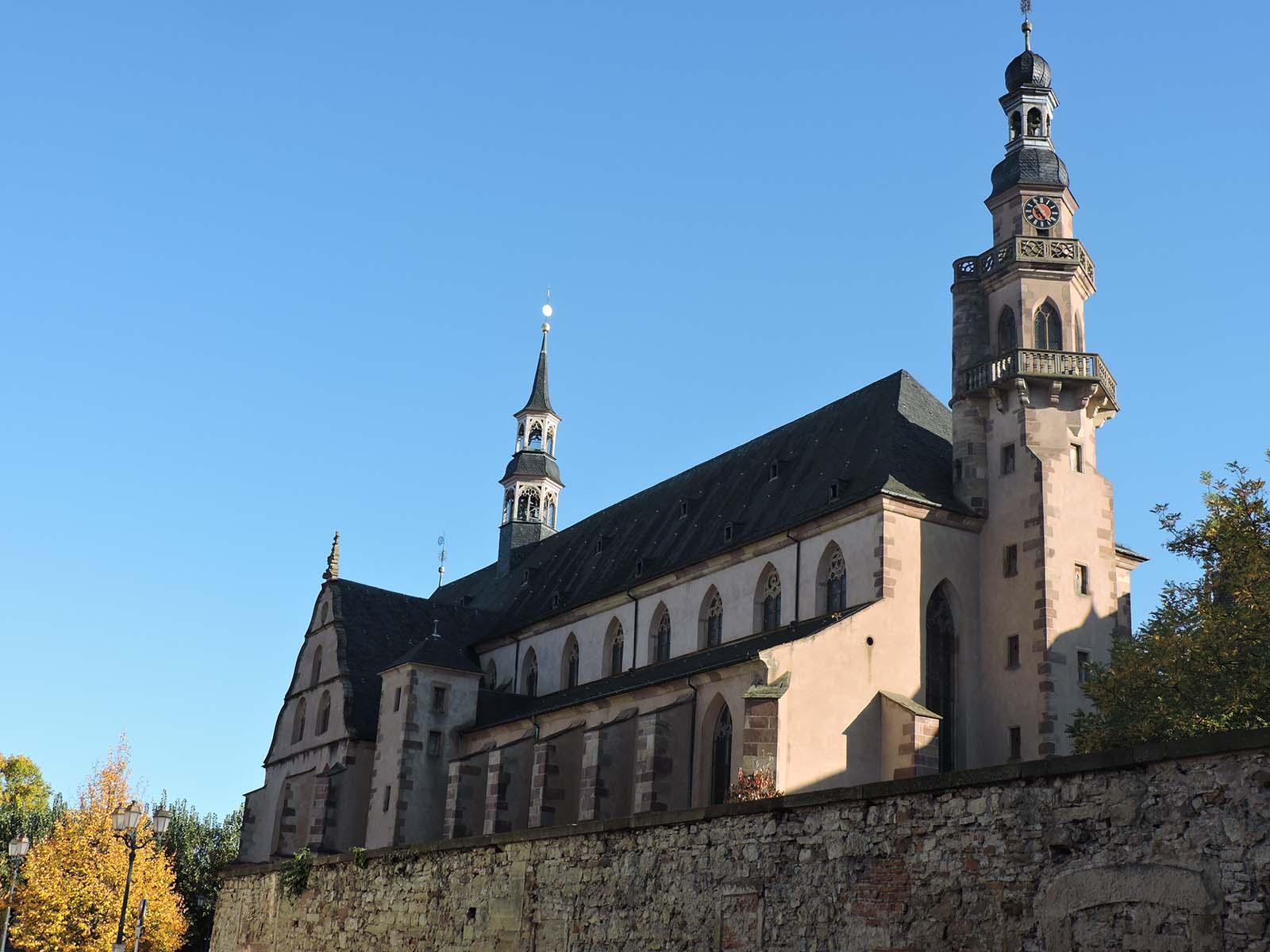 Chemins d'art sacré en Alsace - L'église des Jésuites