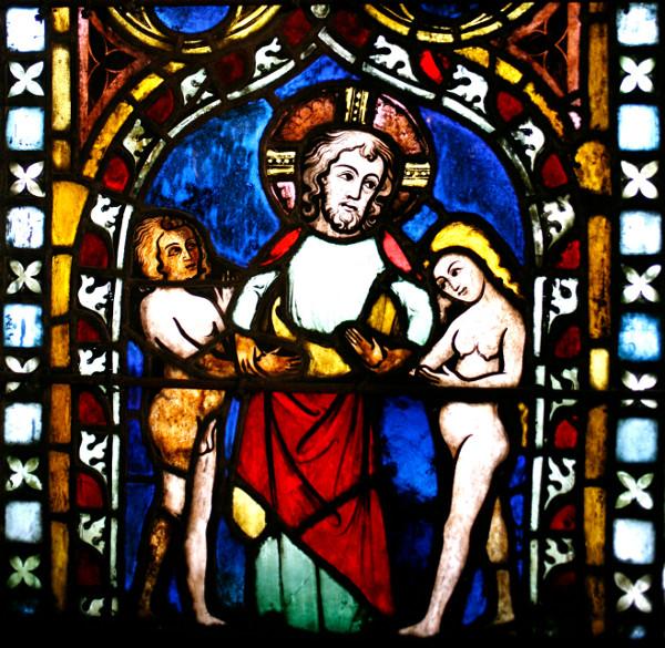 Die Stephanskirche Glasfenster