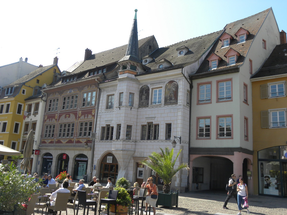 Sentier du vieux mulhouse mulhouse - Office du tourisme alsace ...