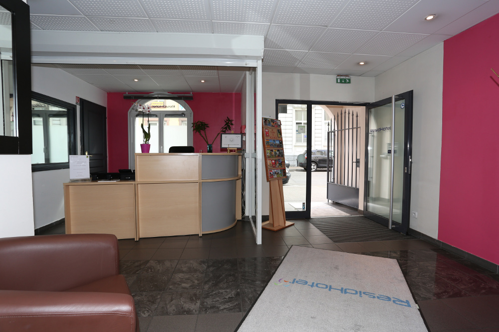 Residhotel mulhouse centre h bergement mulhouse for Resid hotel