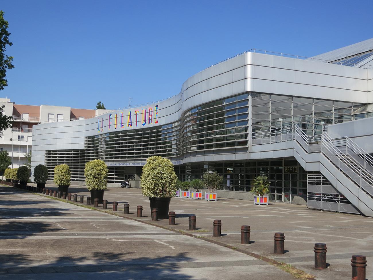 La filature sc ne nationale mulhouse for Architecture courbe