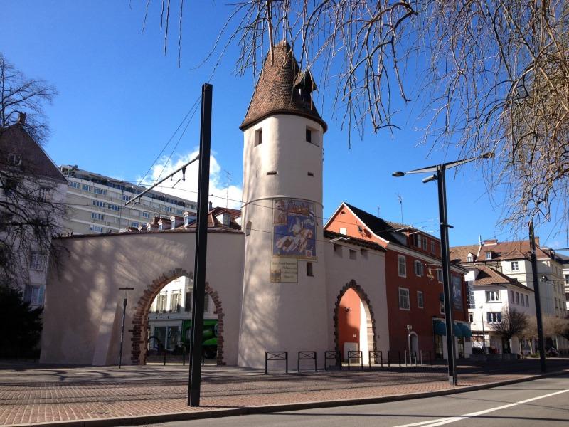 La fresque de la tour du bollwerk mulhouse - Office du tourisme de mulhouse ...