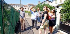 Guided tour of the workers' district