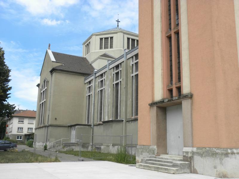 Eglise sainte jeanne d 39 arc mulhouse - Mulhouse office du tourisme ...