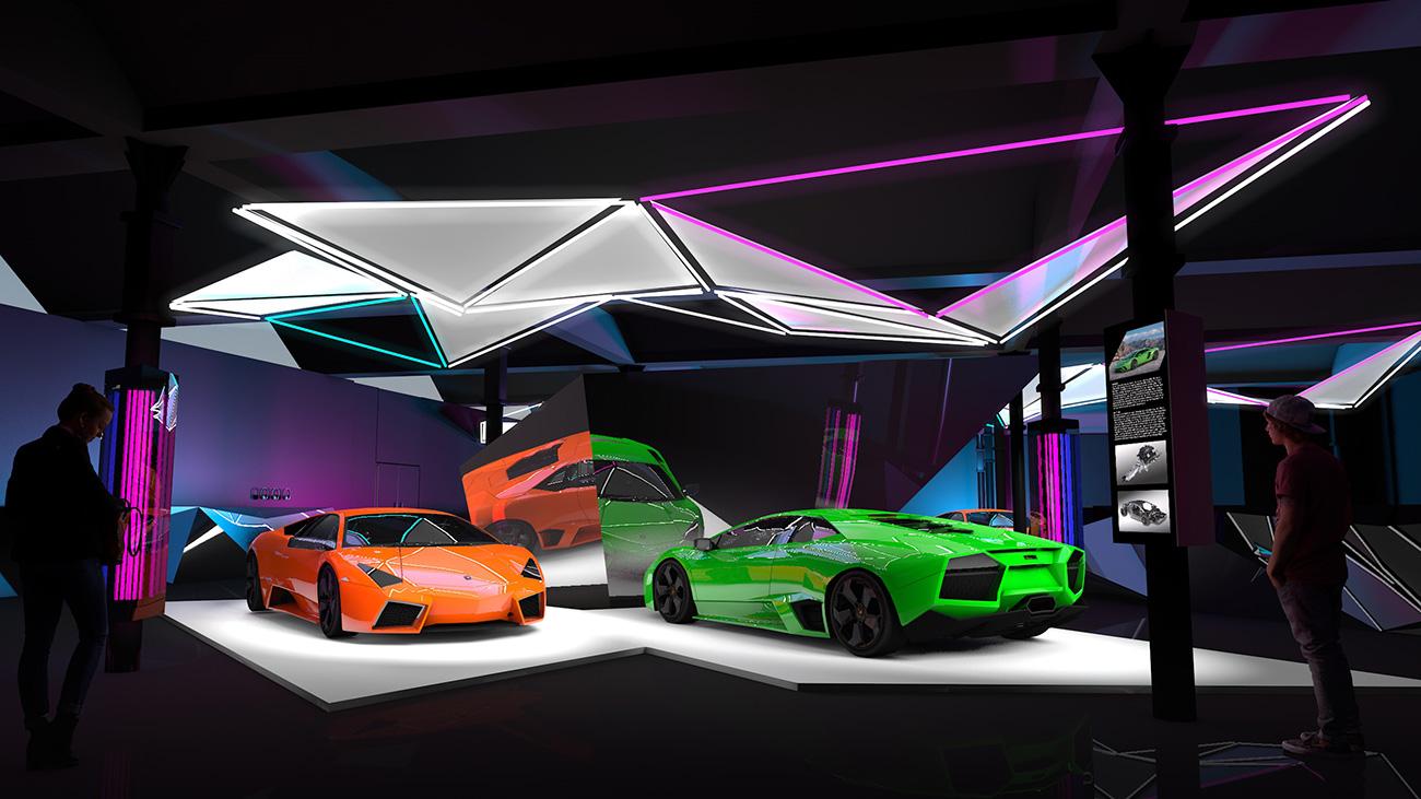 Exposition Pop Lamborghini