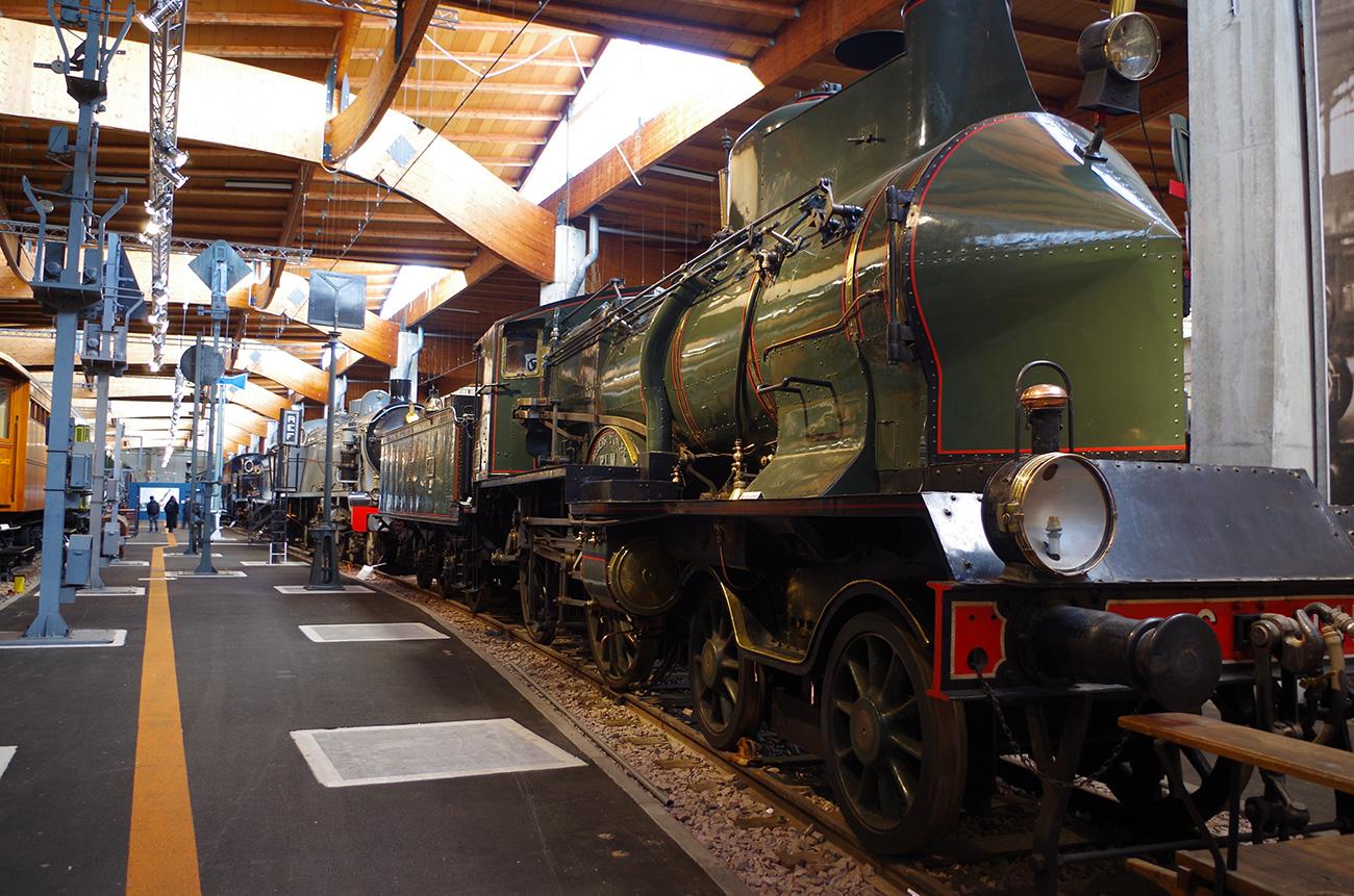 Visite guidée Découverte : De la locomotive à vapeur au TGV