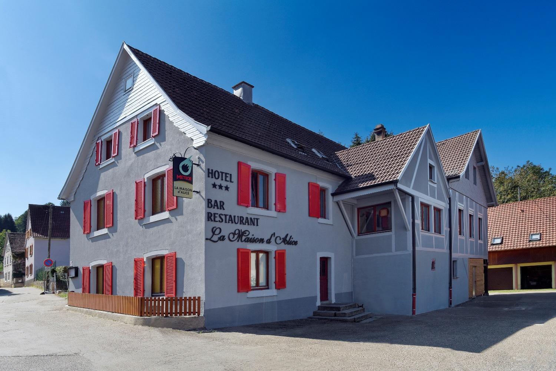 Hôtel-restaurant La Maison d\'Alice - Breitenbach Haut Rhin