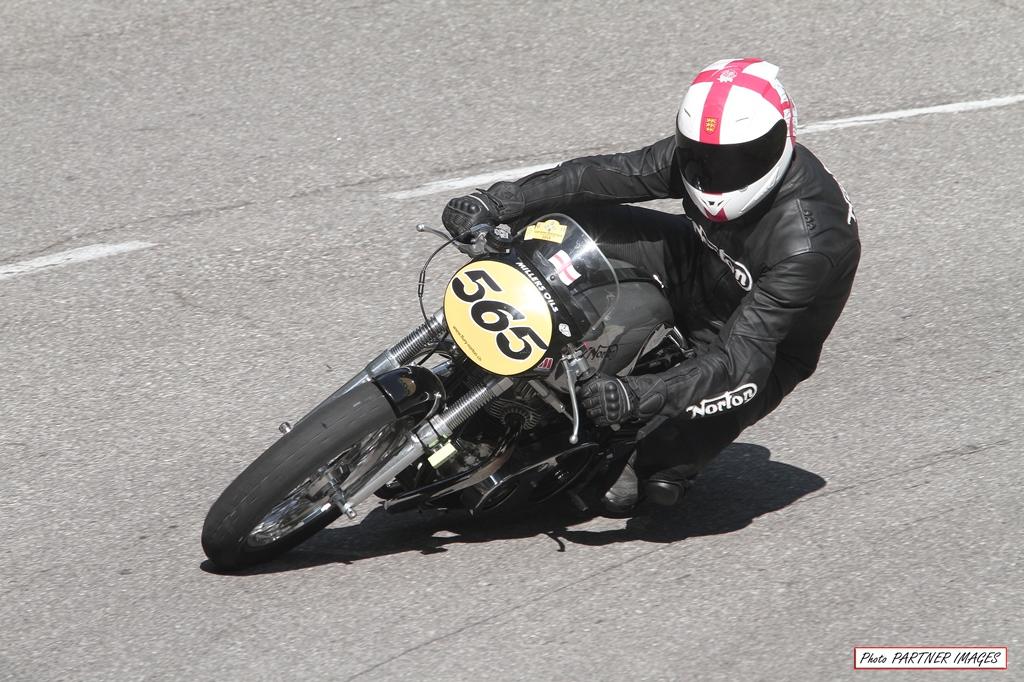 Old motorbike hill race