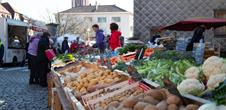 Weekly market: on saturdays & tuesdays mornings