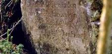 Stèle allemande du Lieutenant Scheufele