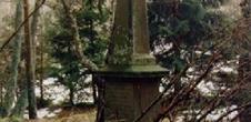 Stèles françaises et champ de bataille