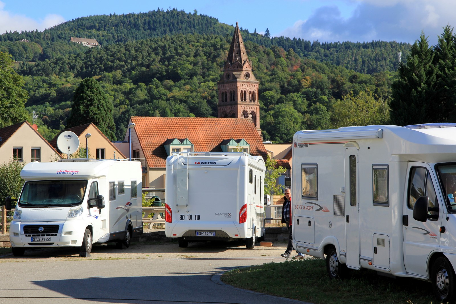 Aire Camping Car Alsace Mulhouse