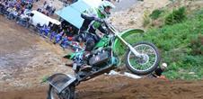 Motorrad Hillclimbing