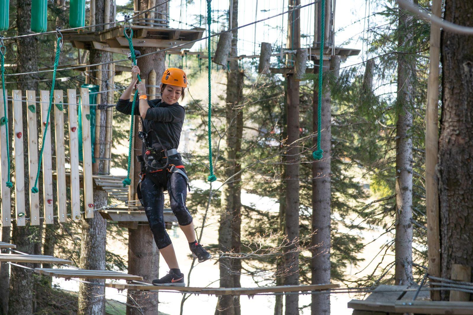 Accrobranche - Parc aventures et multi activités Form'aventures