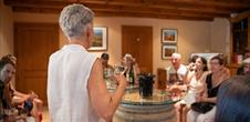 Visit of a wine cellar