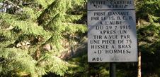 Hiking with Club Vosgien : le sentier historique du Hohrodberg - Linge