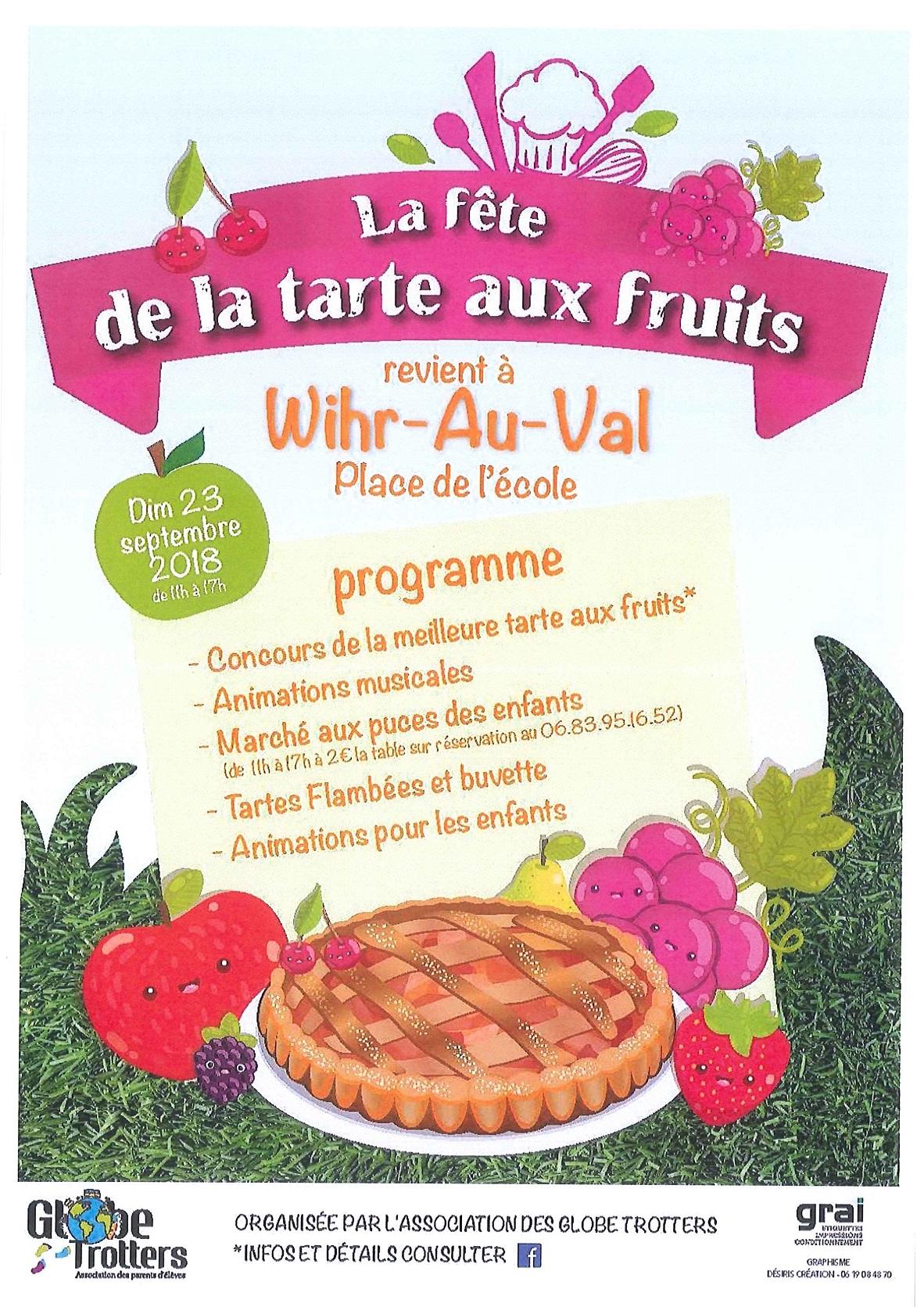 Fete De La Tarte Aux Fruits