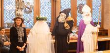 Meet characters of Alsatian Christmas