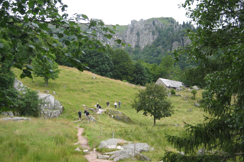 Club Vosgien : Gaschney - Frankenthal