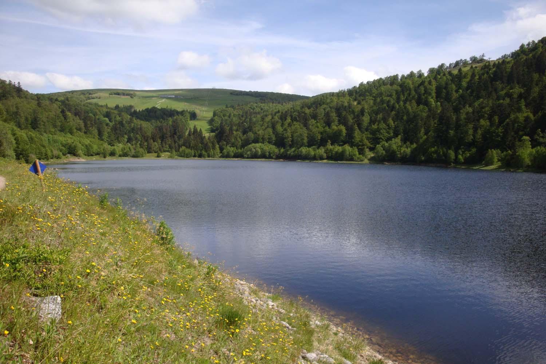 Club Vosgien : Le Lac de la Lande