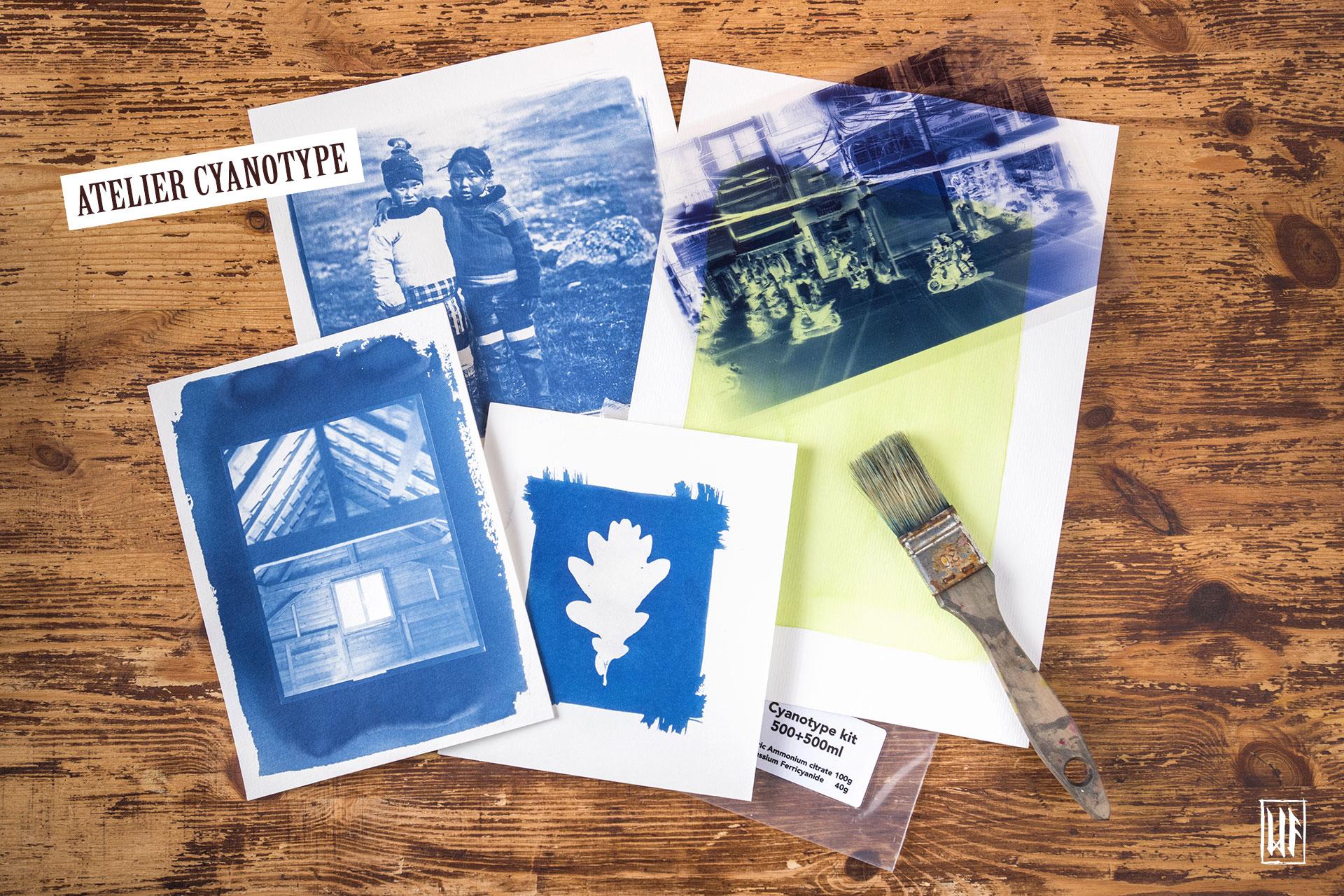 Photographie alternative : tirage au cyanotype ou Van Dyke