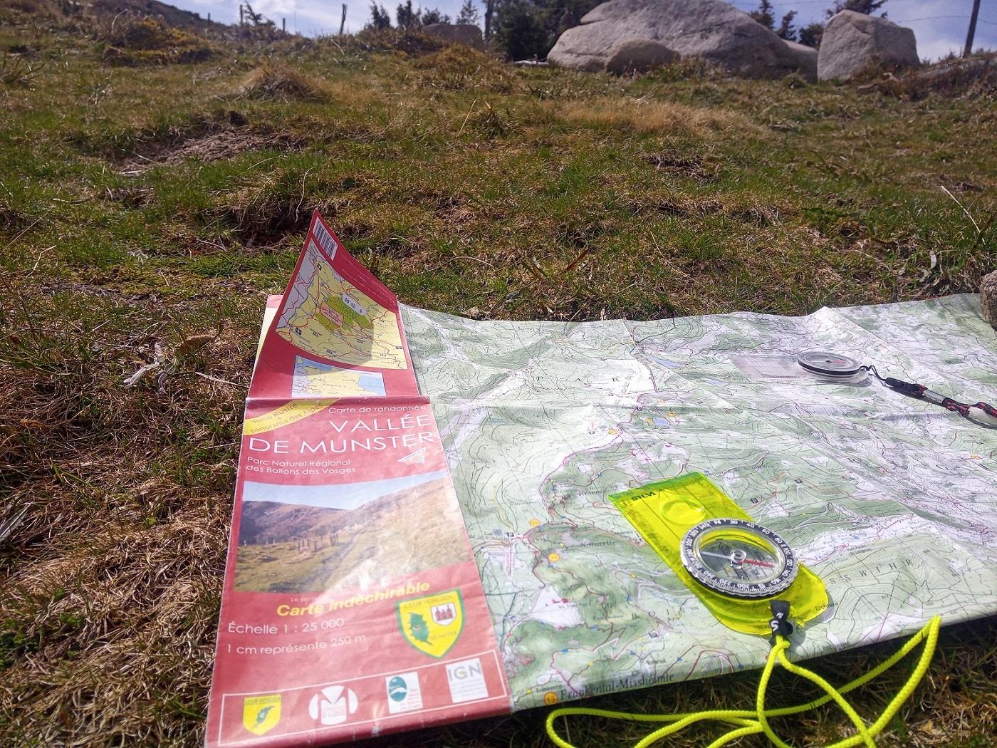 Initiation à l'orientation en montagne