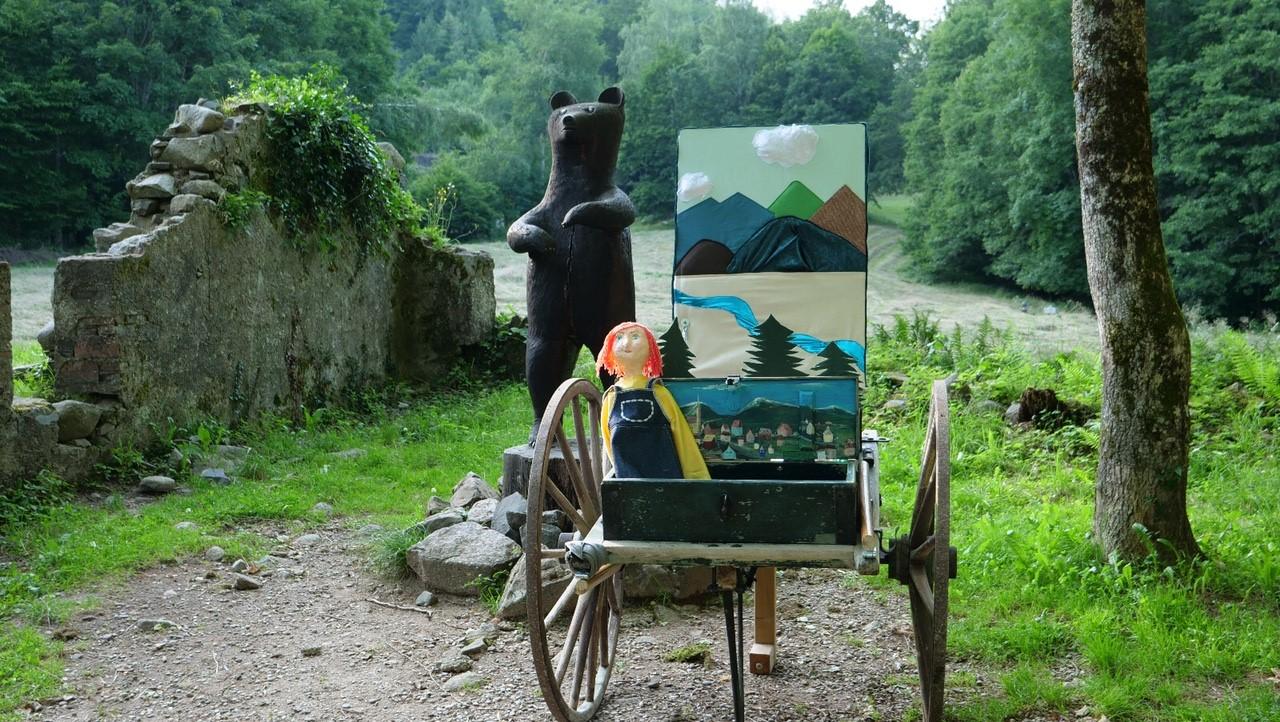 Annulé -Spectacle la charrette aux marionnettes