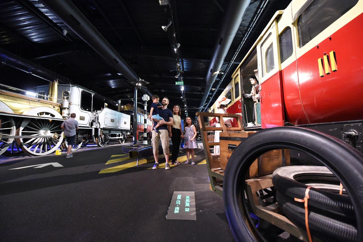 Train museum - Patrimoine SNCF