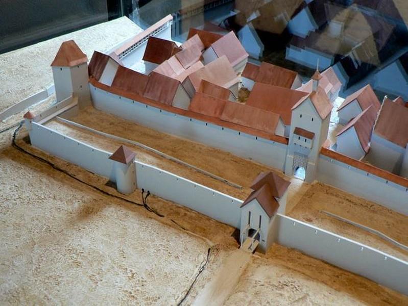 Maquette front ouest 1650