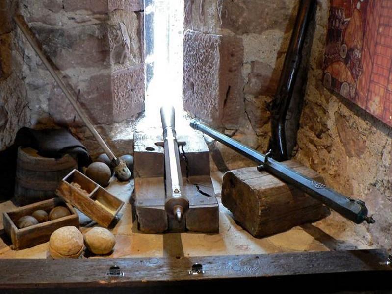 Canons de remparts (16e siècle)