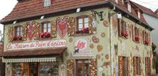 Lebkuchen und elsässische Volkskunst Museum