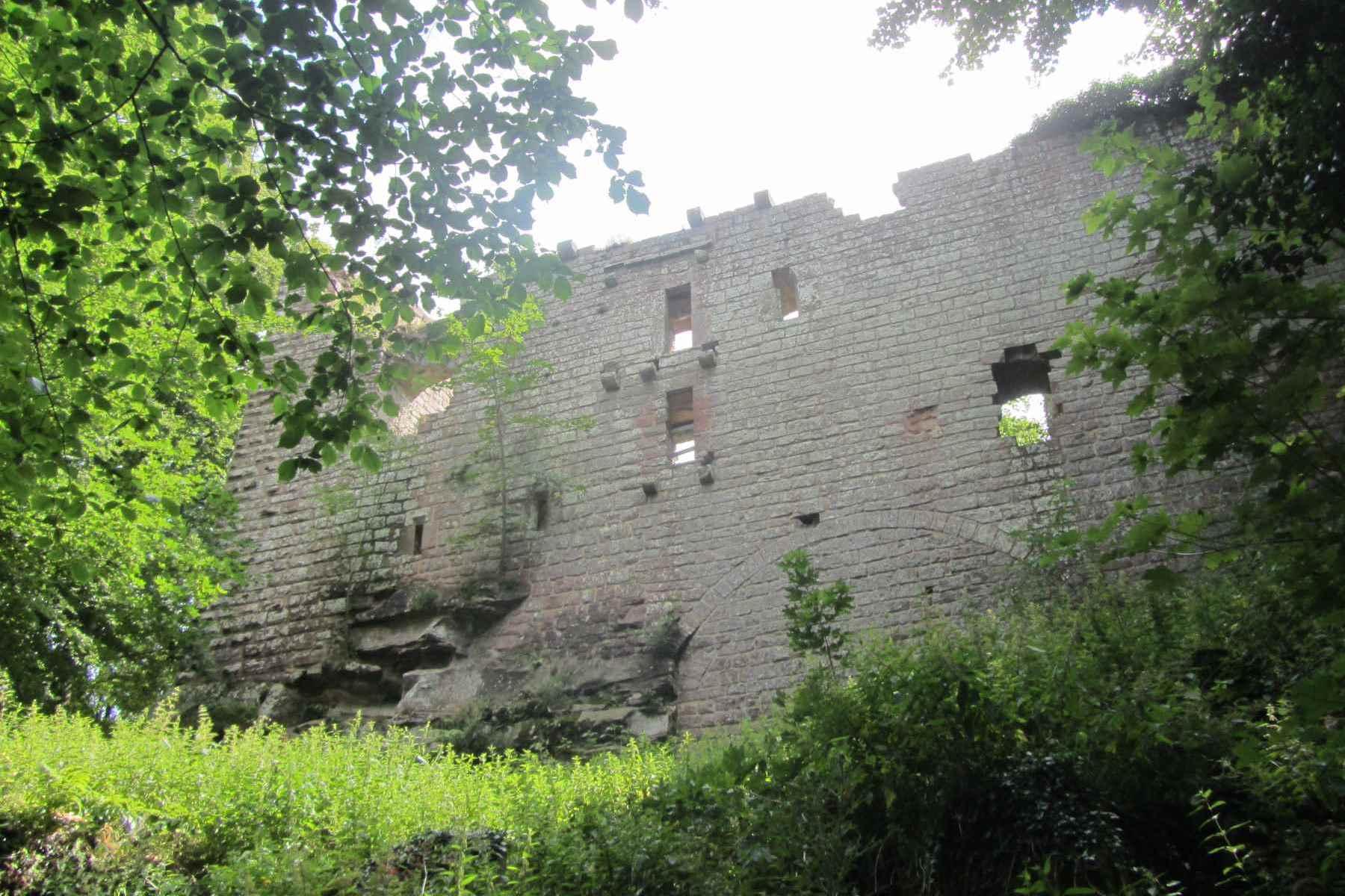Visite : Sur les traces des châteaux du massif